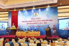 Đại hội Công đoàn TT&TT Việt Nam XV bầu ra ban chấp hành mới
