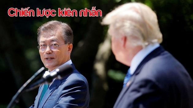 Moon Jae In,Donald Trump,Kim Jong Un