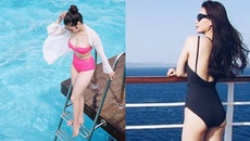 Vẻ gợi cảm của các hot girl VTV từng thi hoa hậu