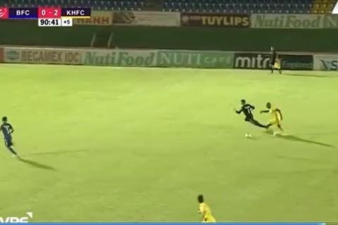 Bình Dương 0-3 Khánh Hòa