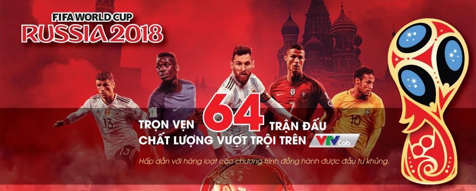 VTV xác nhận mua xong bản quyền truyền hình World Cup 2018