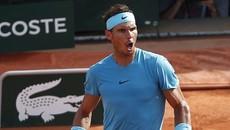 """""""Thổi bay"""" Del Potro, Nadal đoạt vé chung kết Pháp mở rộng"""