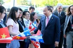 Thủ tướng dự sự kiện trình diễn công nghệ thông minh tại ĐH Laval