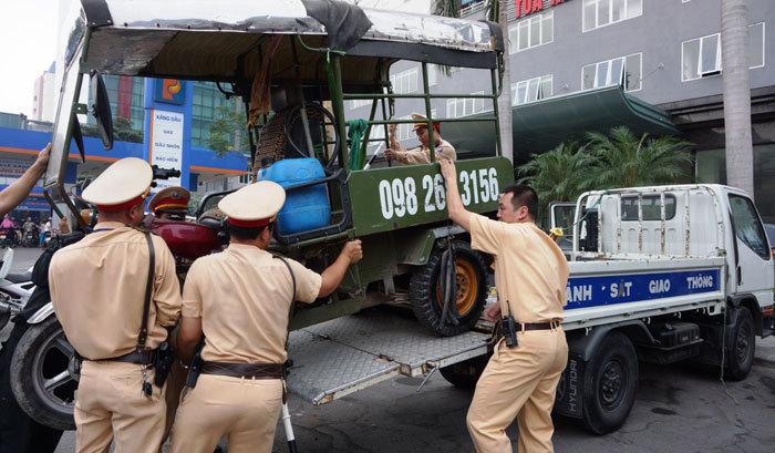 Hàng ngàn xe 3 bánh sẽ bị thu hồi, tiêu hủy từ ngày 1/7/2018