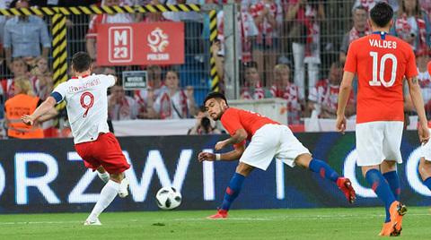 Video Ba Lan 2-2 Chile