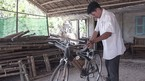 Kỳ nhân Trà Vinh chế xe đạp tre khiến khách Tây phát thèm