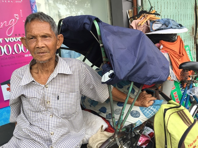 Mưu sinh,Người cao tuổi,TP HCM