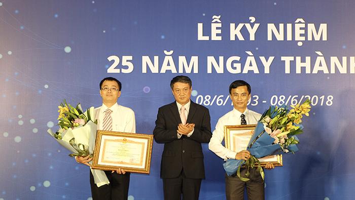 Cục Tần số Vô tuyến điện kỷ niệm 25 năm thành lập