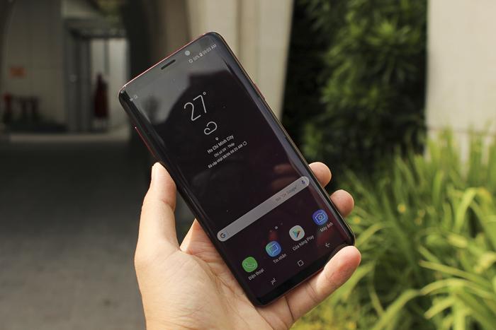 Galaxy S9 Plus màu đỏ Burgundy đã xuất hiện tại Việt Nam