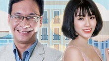 Đức Khuê gượng gạo khi 'làm chồng' Linh Miu