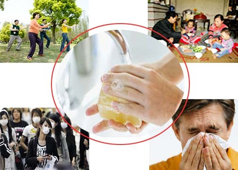 cúm,cúm A H1N1,cảm cúm,lây nhiễm,cúm mùa