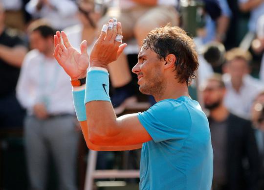 'Thổi bay' Del Potro, Nadal đoạt vé chung kết Pháp mở rộng