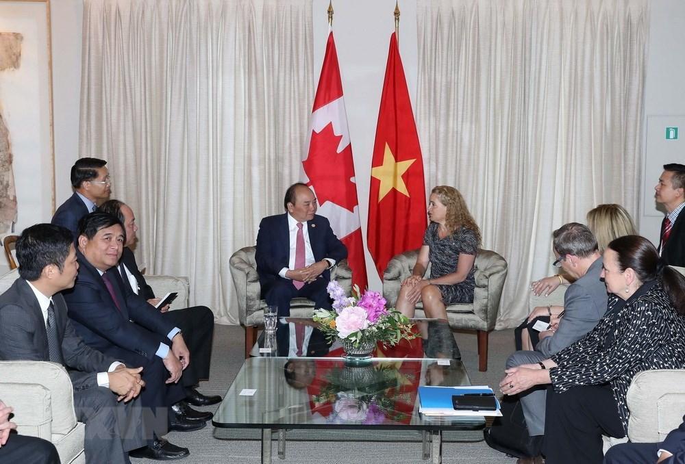 Thủ tướng Nguyễn Xuân Phúc,Nguyễn Xuân Phúc,Việt Nam - Canada,Hội nghị thượng đỉnh G7
