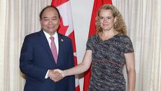 Hình ảnh về hoạt động của Thủ tướng tại Canada