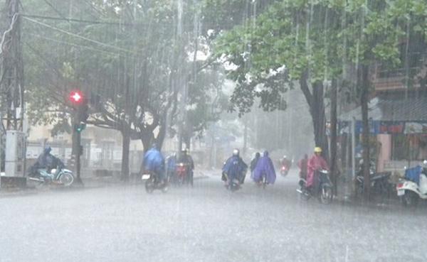 Dự báo thời tiết 10/6: Miền Bắc mưa to