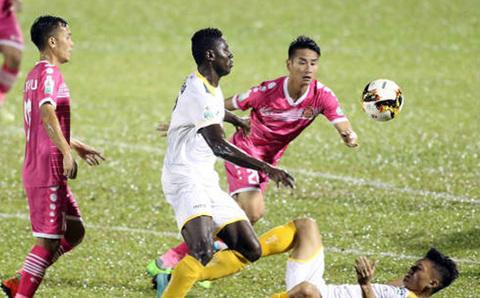 Video Sài Gòn FC 2-1 SLNA