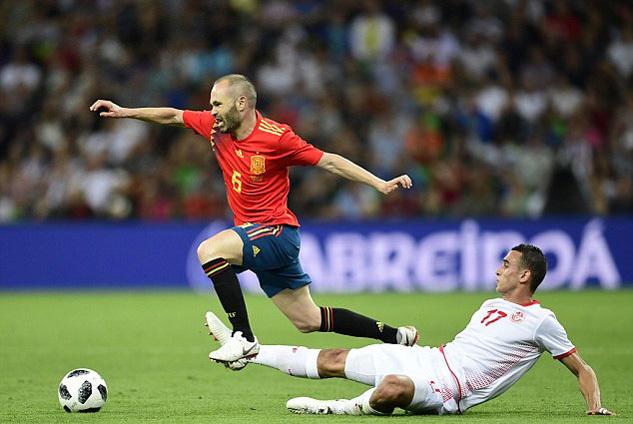 Tây Ban Nha,Tunisia,World Cup 2018,Giao hữu quốc tế