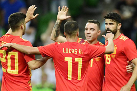 Video Tây Ban Nha 1-0 Tunisia