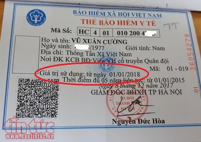 Vì sao thẻ BHYT không ghi ngày hết hạn trên thẻ?