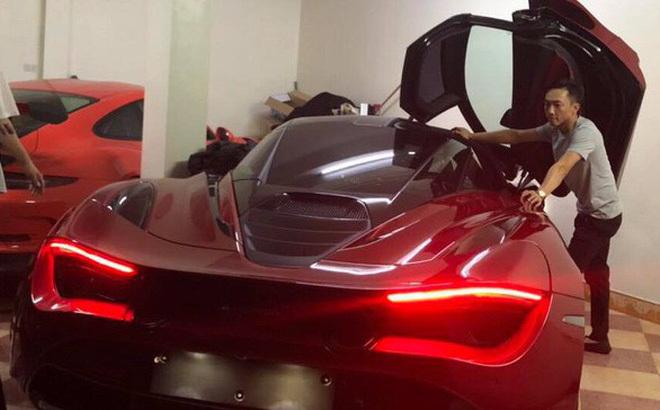 Cường Đôla tậu siêu xe McLaren gần 22 tỷ?