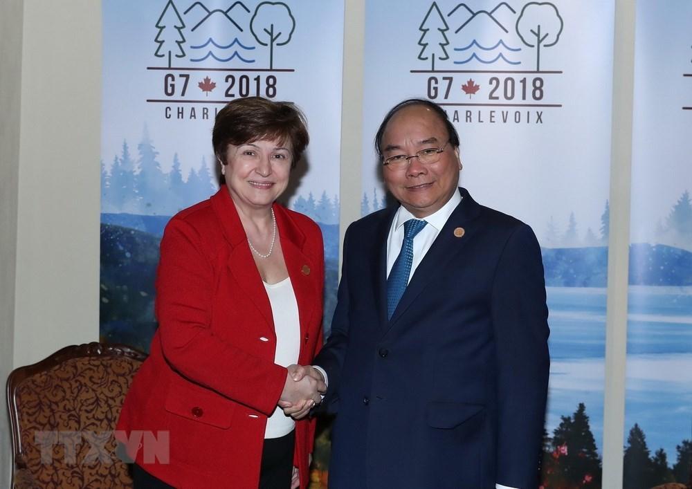 Thủ tướng Nguyễn Xuân Phúc,Nguyễn Xuân Phúc,Thủ tướng thăm Canada,Việt Nam - Canada,Hội nghị Thượng đỉnh G7