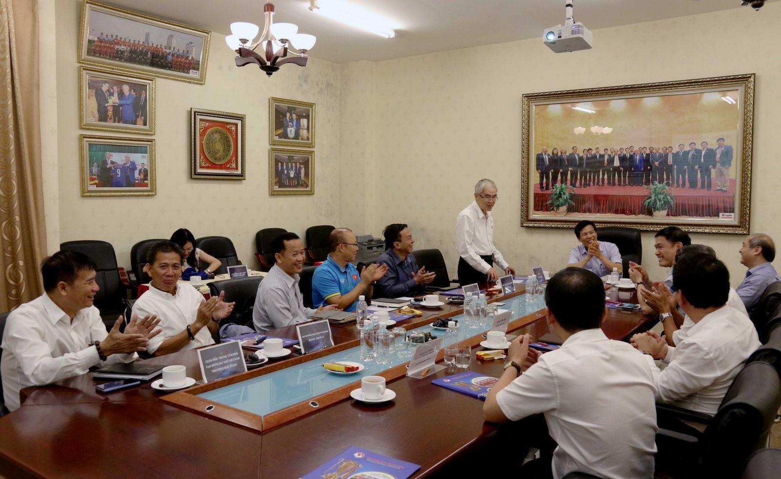 HLV Park Hang Seo,VFF,U23 Việt Nam,tuyển Việt Nam
