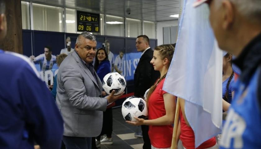 Messi và Argentina được tiếp đón đặc biệt ở Nga