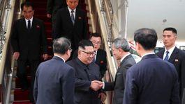 Ngày đầu ở Singapore của Kim Jong Un