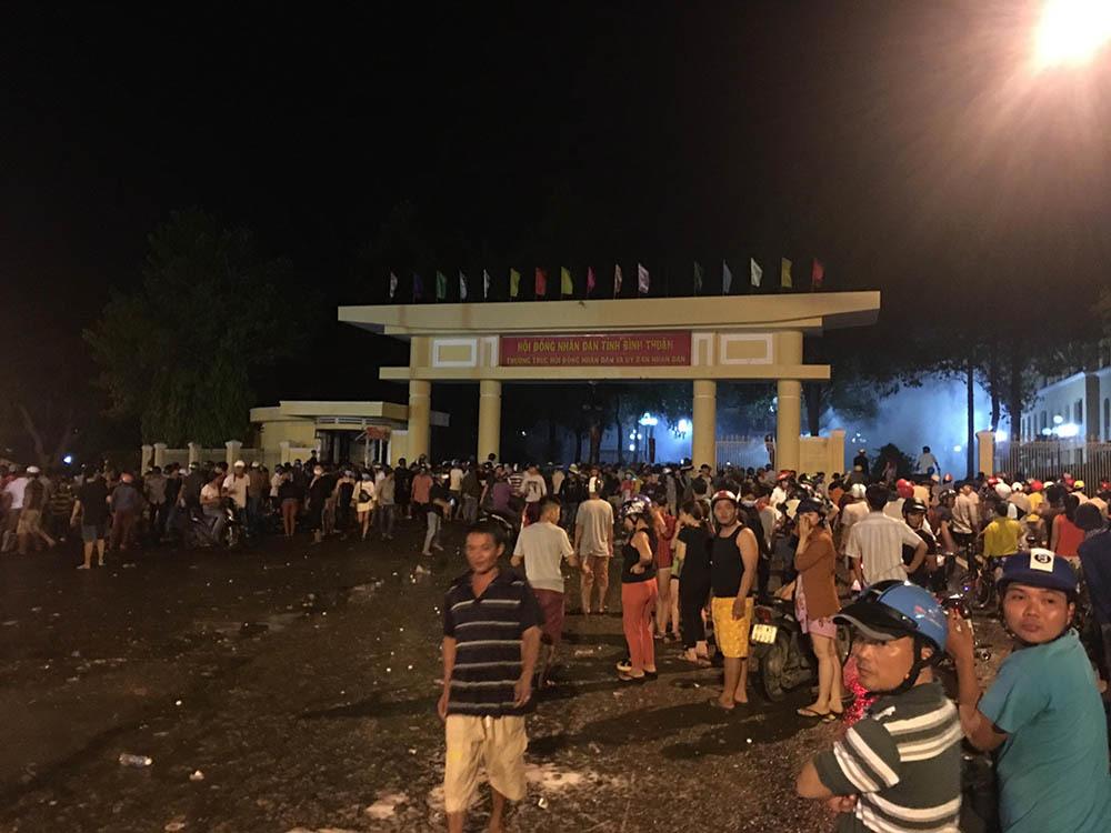Bí thư Bình Thuận: Không chấp nhận hành vi quá khích