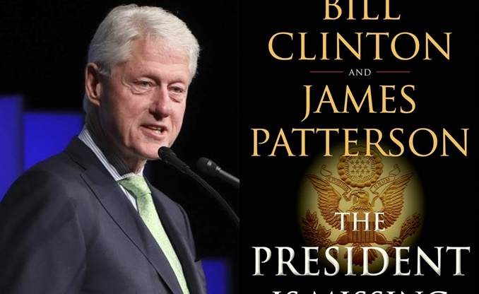 Cựu Tổng thống Mỹ Bill Clinton viết tiểu thuyết ly kỳ