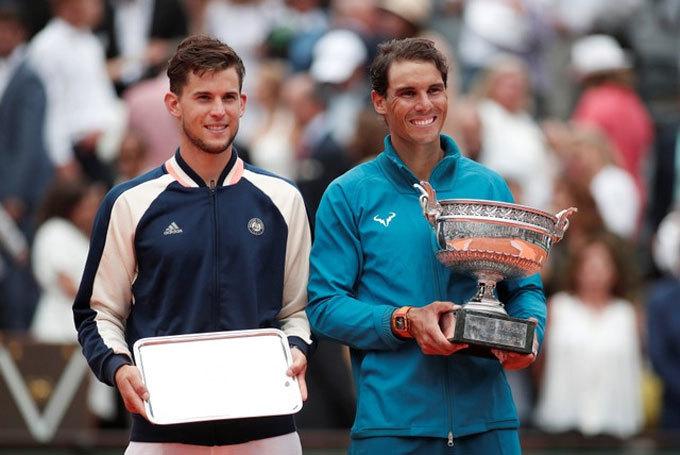 Hạ Thiem, Nadal lần thứ 11 vô địch Roland Garros