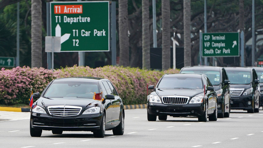 Đoàn xe hộ tống ông Kim Jong Un có gì đặc biệt?