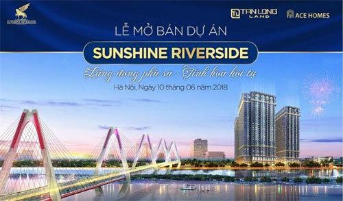 Mở bán Sunshine Riverside ở Tây Hồ Tây