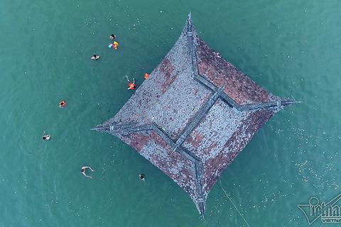 bơi ở hồ Long Trì