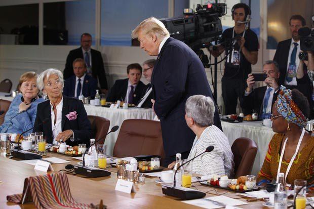 G7,Donald Trump,Mỹ,Canada,hội nghị thượng đỉnh G7,Justin Trudeau