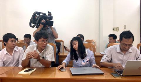 Bình Thuận thông tin người đập phá