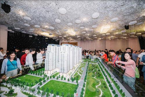 Dream Home Riverside: căn hộ cao cấp, giá 'vừa túi tiền'