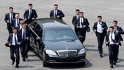 Vệ sĩ vest đen chạy bộ bảo vệ Kim Jong Un là ai?