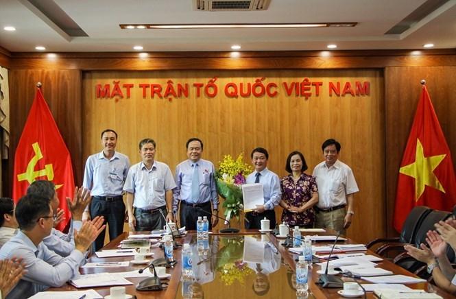Hầu A Lềnh,MTTQ Việt Nam,bổ nhiệm,nhân sự,Trần Thanh Mẫn