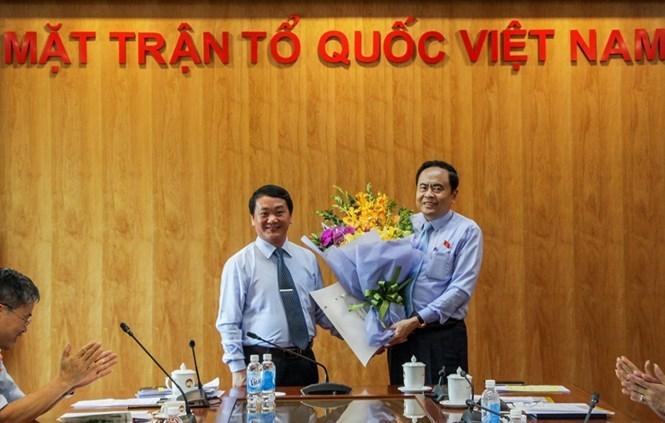 Ông Hầu A Lềnh giữ chức Bí thư Đảng ủy cơ quan TƯ MTTQ Việt Nam
