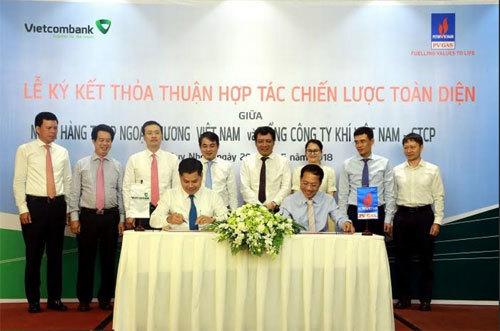 Vietcombank và PV GAS ký kết hợp tác chiến lược toàn diện