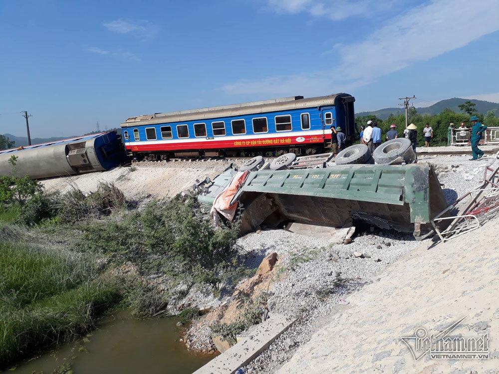 Hàng loạt sếp đường sắt bị kỷ luật sau tai nạn liên tiếp