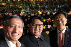 Kim Jong Un đi dạo đêm ở Singapore