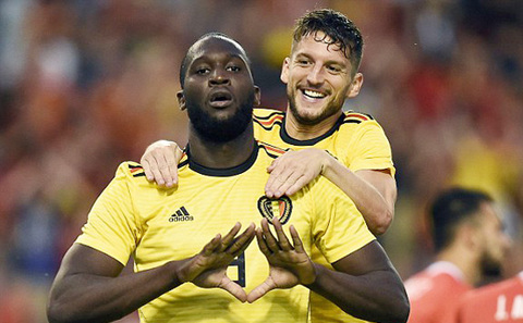 Video Bỉ 4-1 Costa Rica