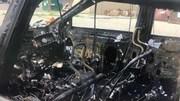 Điện thoại Samsung phát nổ, chủ xe ôtô suýt mất mạng