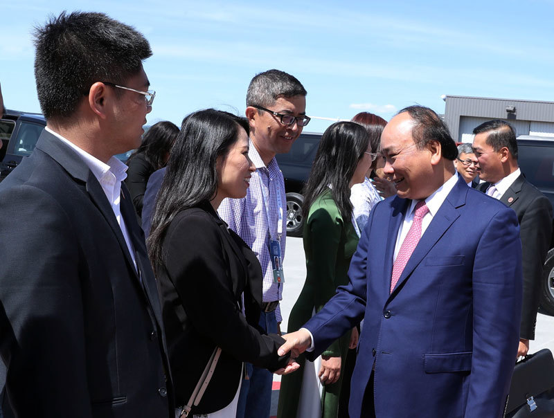 Thủ tướng Nguyễn Xuân Phúc,Nguyễn Xuân Phúc,Canada,Việt Nam - Canada