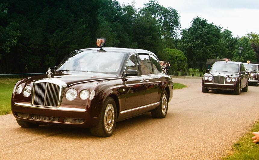 Các nguyên thủ quốc gia sử dụng xe gì?