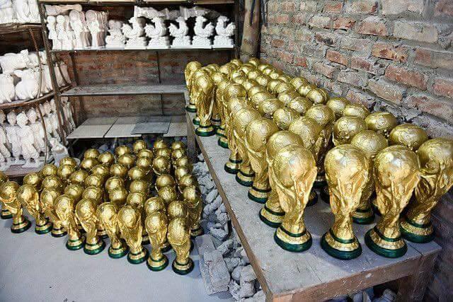 Cúp vàng,World Cup,world cup 2018,linh vật