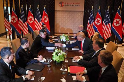 Bàn đặc biệt cho hội nghị thượng đỉnh Mỹ - Triều