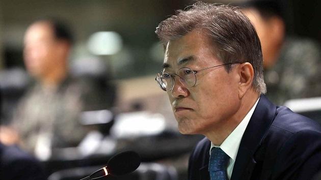 Moon Jae In,Kim Jong Un,Donald Trump,thượng đỉnh Mỹ - Triều